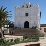 Chajul Catholic church and renovated plaza