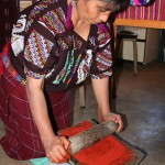 Traditional grinding stone