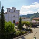 Cotzal new plaza and Catholic church