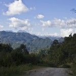Cotzal road to Villa Hortensia
